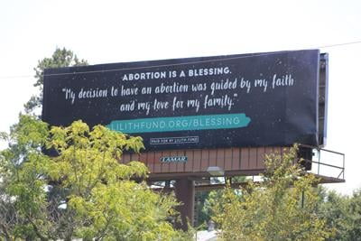 abortion billboard