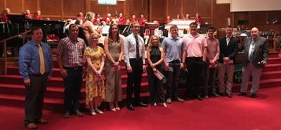 First Baptist Church of Carthage awards scholarships to orchestra students