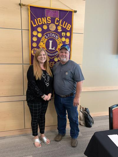 Main Street Manager speaks to Carthage Noon Lions Club