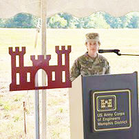 Corps breaks ground for drainage projects