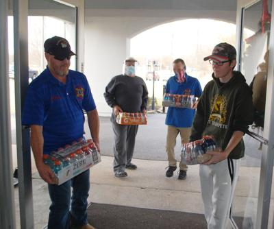 Legion, VFW donate to Greene Acres COVID wings