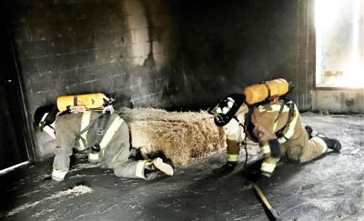 BRTC's Firefighter Essentials students practice life-saving techniques