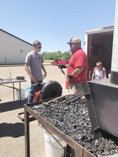 BRTC students shown how blacksmithing is done today