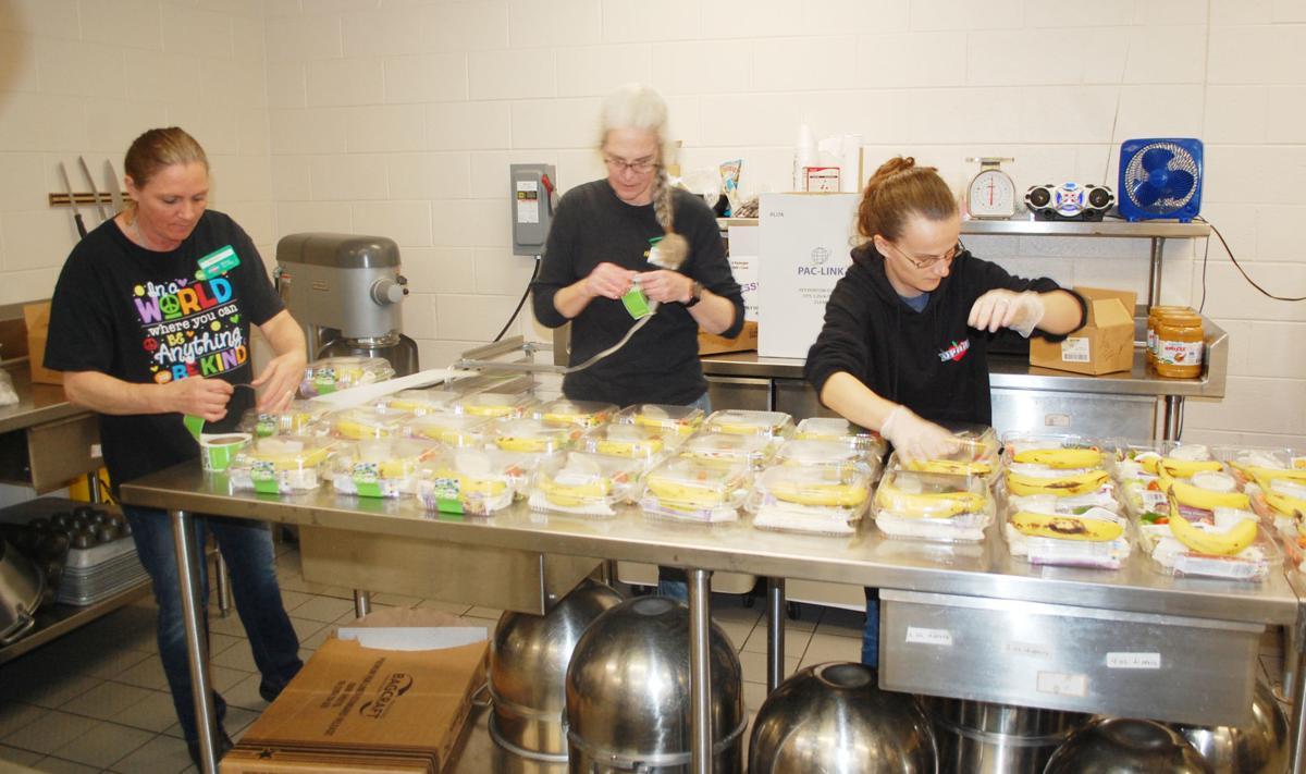Schools provide carryout meals