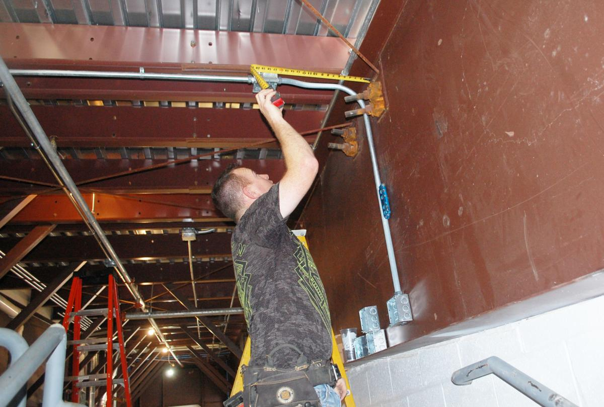 Construction 'just finishing up' on new fire station