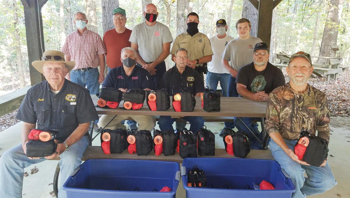 Wildlife Club donated bleed kits to First Responders