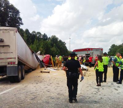 Crash on 49 claims 1, injures another