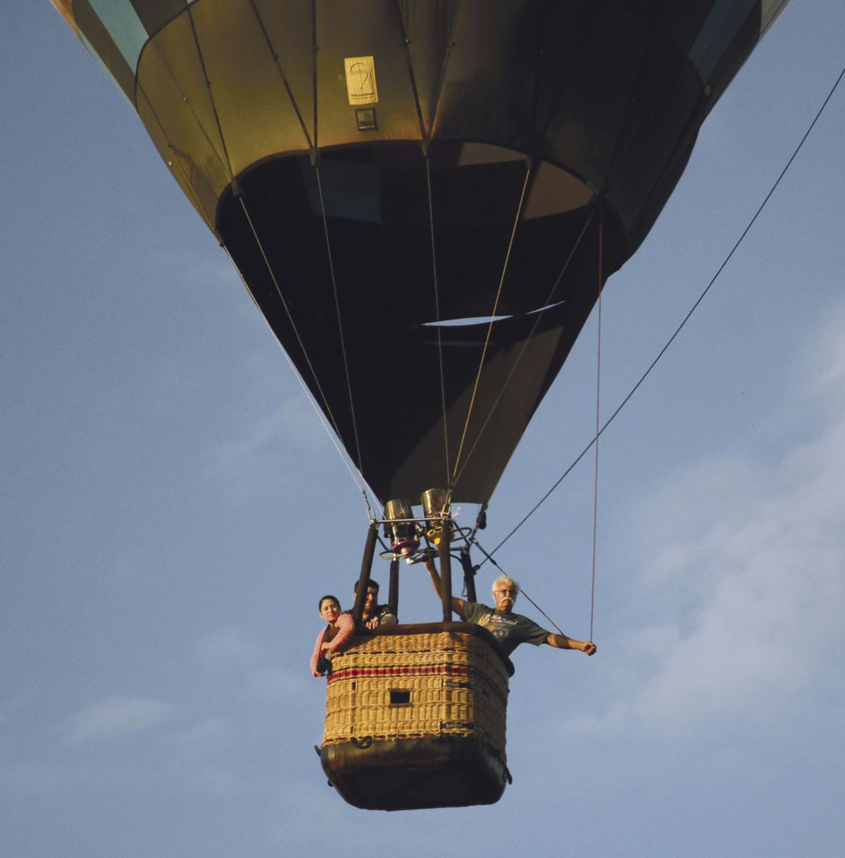 Balloon ride leads to proposal