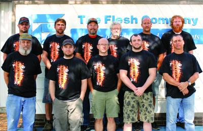 Flesh employees honored