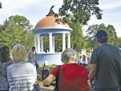 Tour brings Parsons' past to life