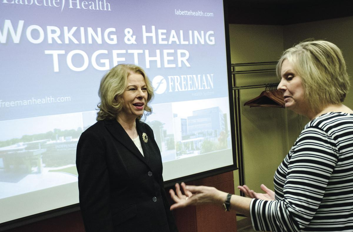 Labette Health, Freeman to work together for health care