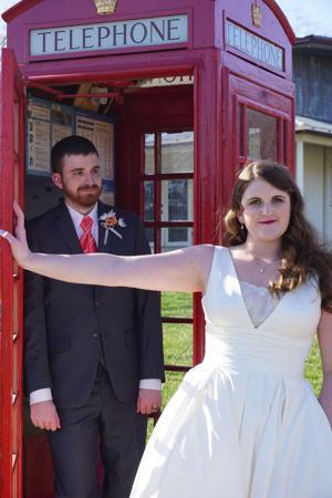 Finley, Isaacs wedding