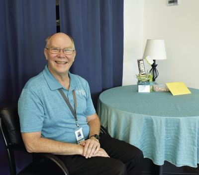 Chaplain retiring