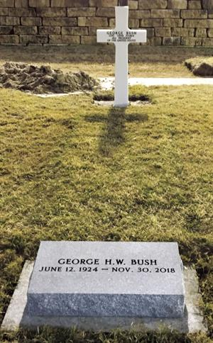Wilbert Makes Markers For Bush S Grave Parsons Sun News