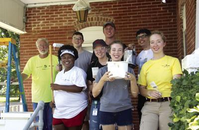 Textron Aviation volunteers help                   restore museum in Cherryvale