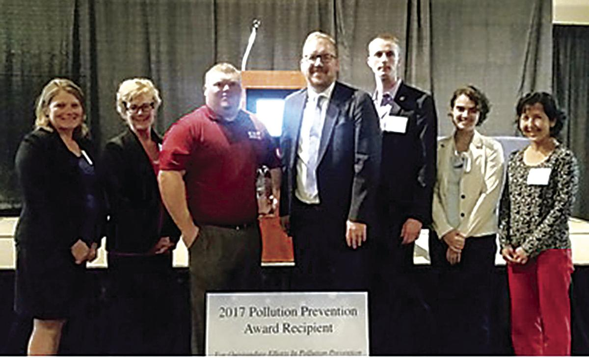 CST Industries gets Pollution Prevention Award
