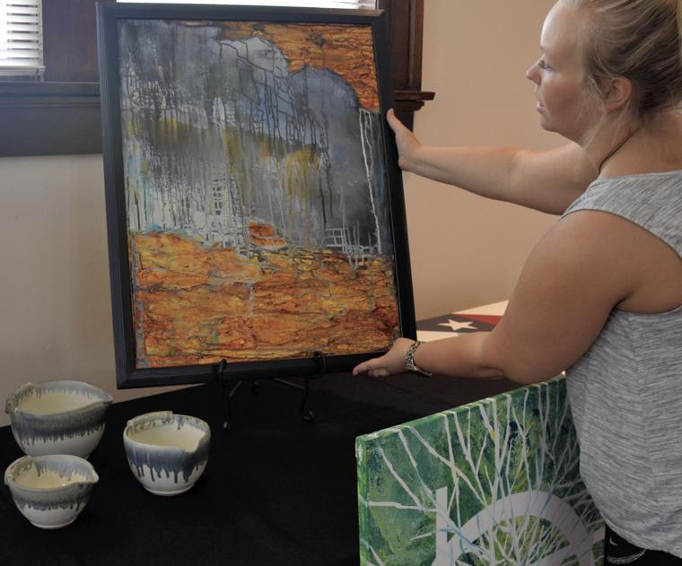 Art auction raises money  for resident equipment fund