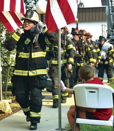 Memorial stair climb honors fallen firefighters from 9/11