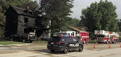 Fire destroys vacant home early Saturday morning