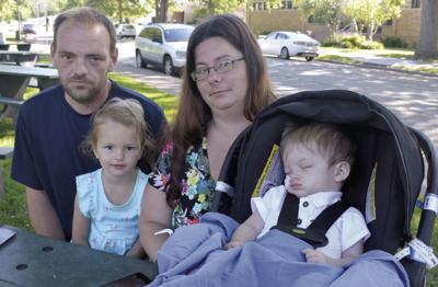 Gorhams prepare for their    son's upcoming brain surgeries