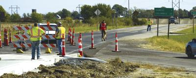 Part of roundabout opens for use