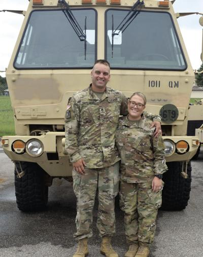 Newly married    couple set to deploy