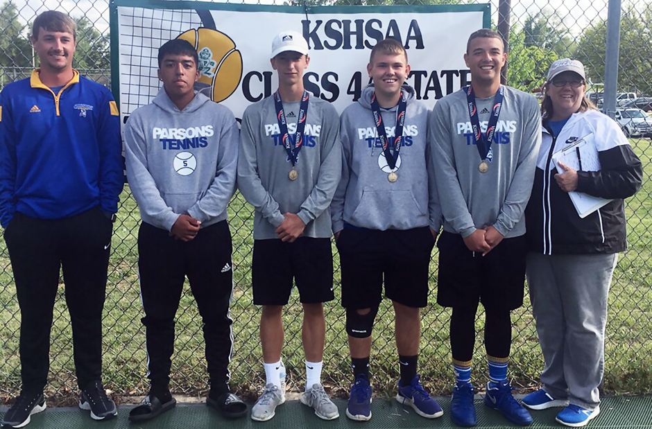 Parsons tennis state