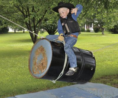 Local boy, 7, wants to ride bulls
