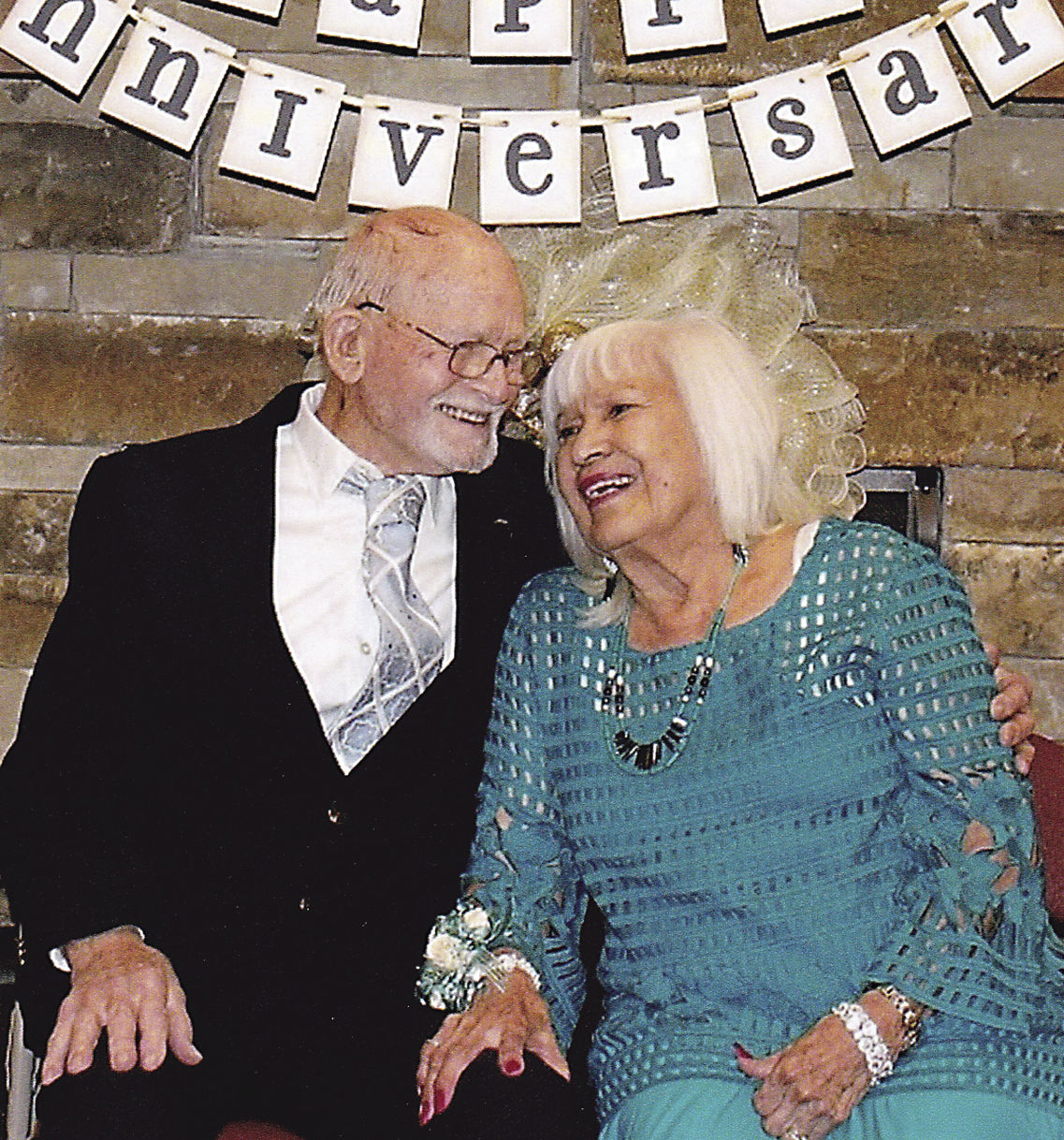 Allens celebrate their 70th wedding anniversary