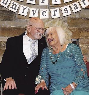 Allens celebrate their 70th wedding anniversary