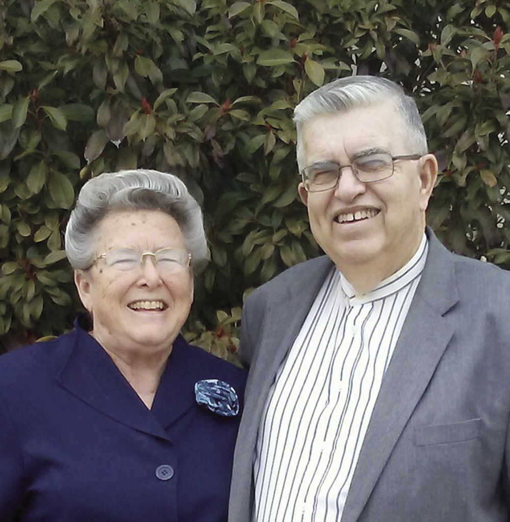 The Rev. Duane and Nancy Johnson