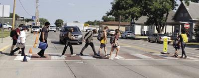 Mishap near school brings safety to the fore