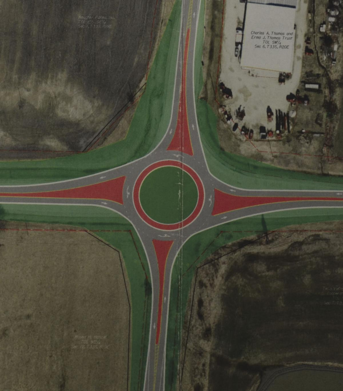 LaForge & Budd gets $3M    contract to build roundabout