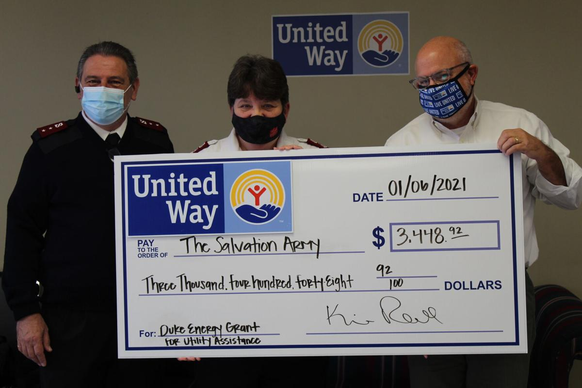 United Way of Florence County Distributes $8,960.30 from Duke Energy Grant
