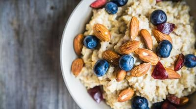 Start your day with healthy oatmeal