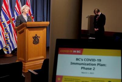 British Columbia targets workplace outbreaks, sets daily record of COVID-19 cases