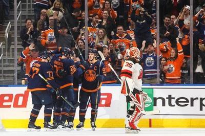 Mikko Koskinen makes 26 saves, Oilers blank Devils 4-0