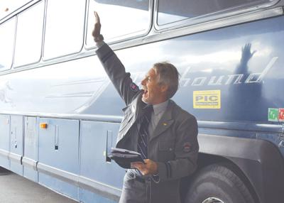 Greyhound bus makes final departure from Penticton depot