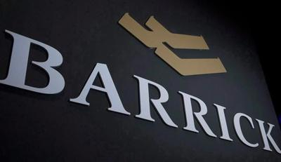 Barrick earns US$194M profit, annual production expected at top end of guidance