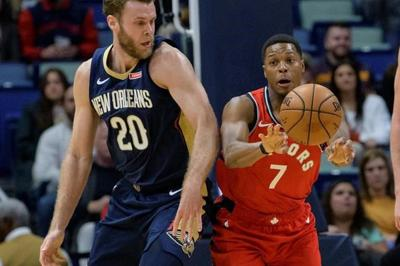 """Raptors: Lowry, Ibaka """"out indefinitely after injuries Friday night"""
