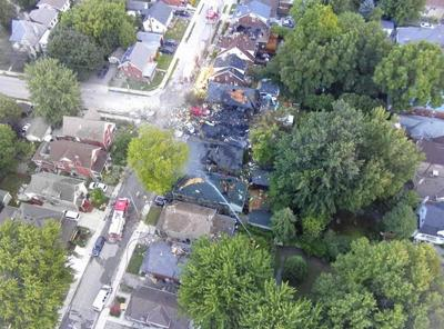 Most residents allowed home after house explosion in London, Ont.