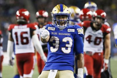 CFL rushing leader Andrew Harris returns to Winnipeg offence versus Alouettes