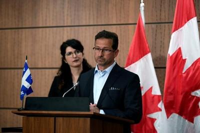 Bloc Quebecois Leader Yves-Francois Blanchet's spouse tests positive for COVID-19