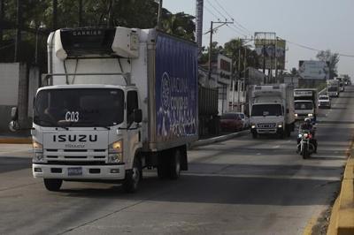 El Salvador donates vaccine to desperate Honduras towns