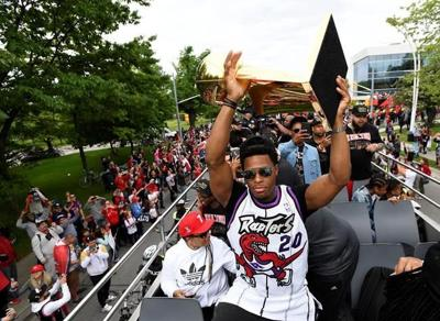 The latest from the Raptors parade in Toronto