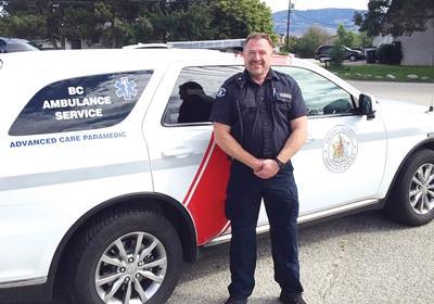 ALS paramedic Jason Arnold