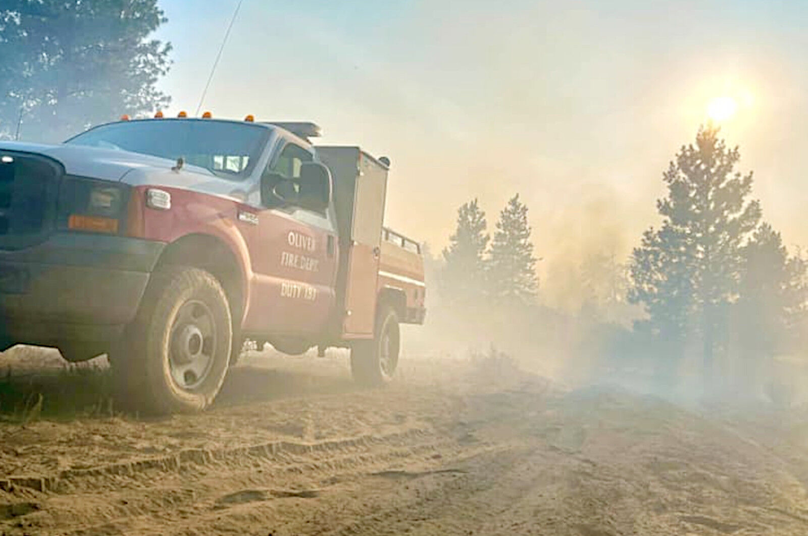 Heat warning expected to challenge firefighters
