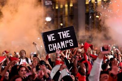 Fans delirious as Raptors best Warriors to win NBA championship