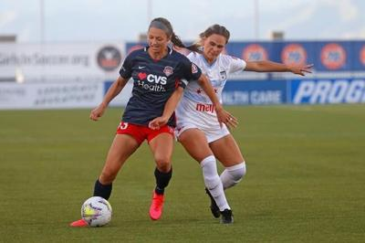 Defender Bianca St-Georges happy to be healthy and back in camp with Canada