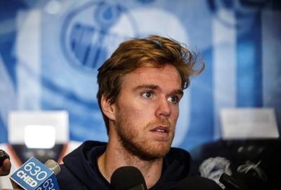 All eyes on Connor McDavid's rehabbed left knee as Edmonton Oilers begin camp